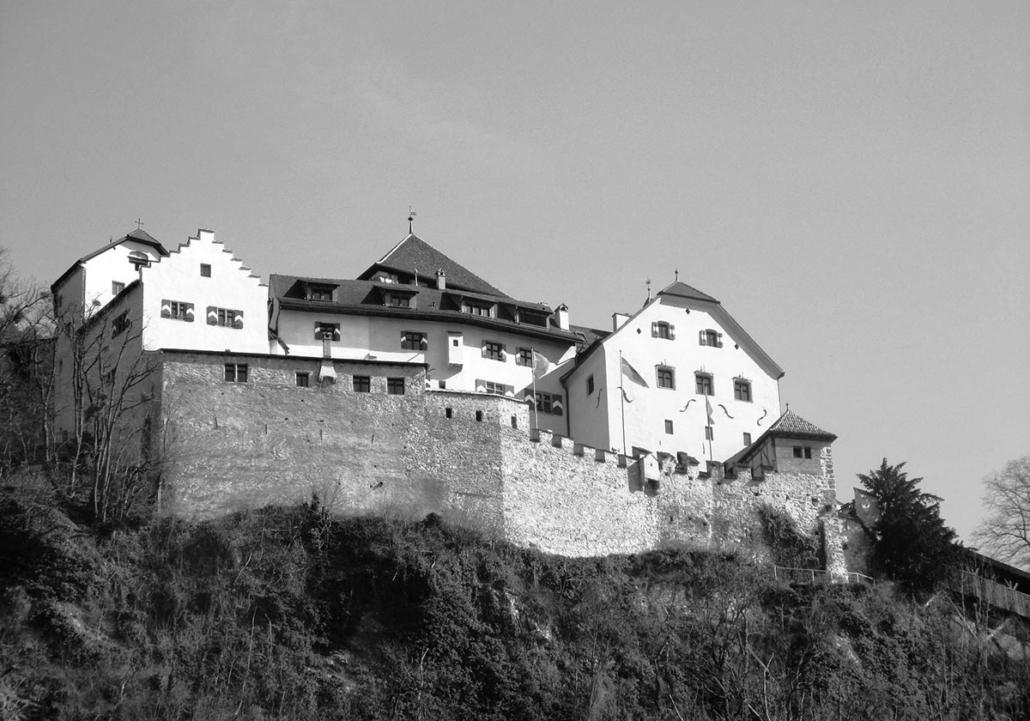 Schloss Vaduz / Fürstentum Liechtenstein